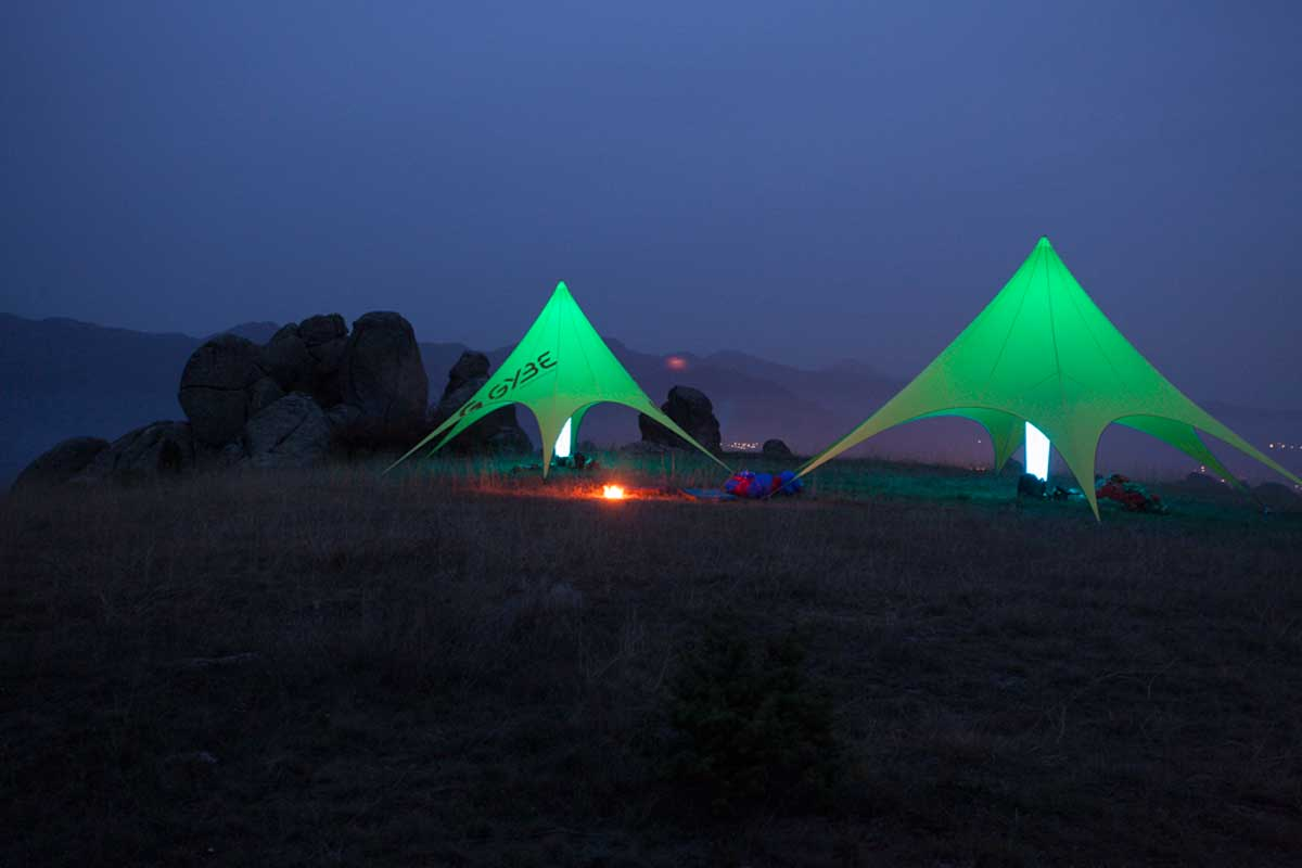 GYBE Star Tents