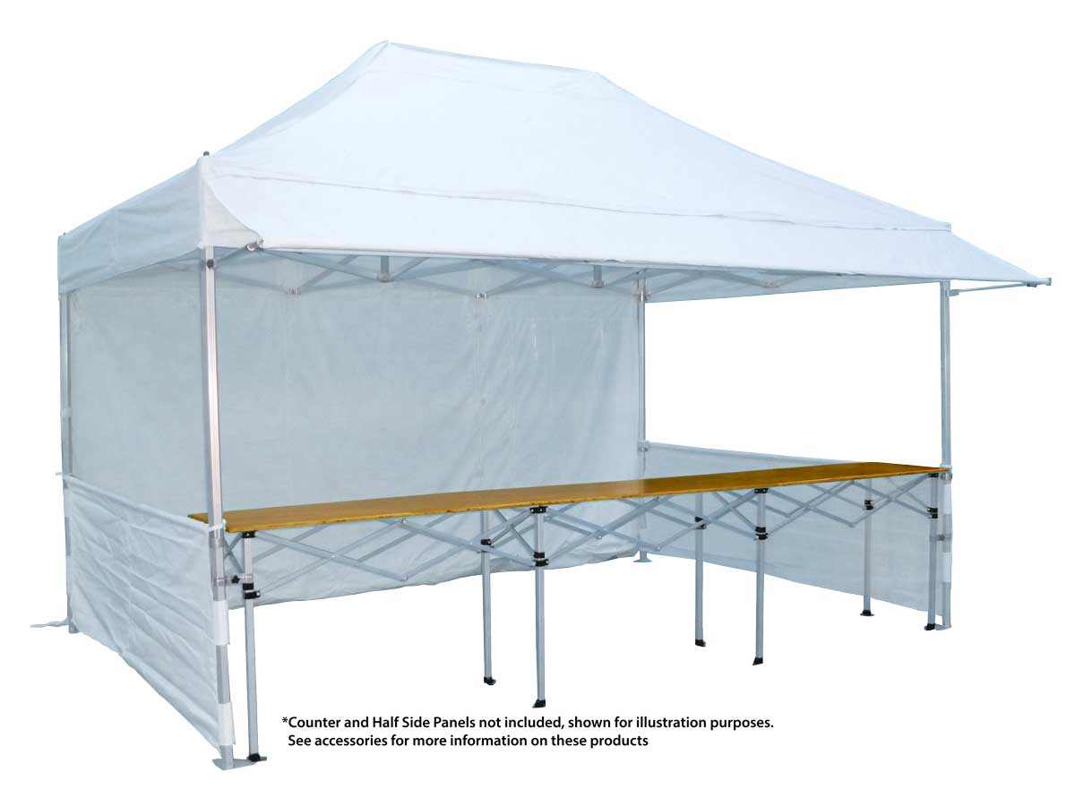 Canopro Lite 15'x10' with extending rain canopy